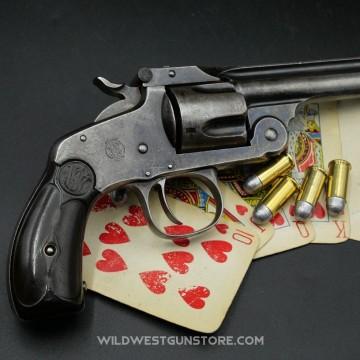 Revolver Smith et Wesson calibre .38 SA modèle n°2