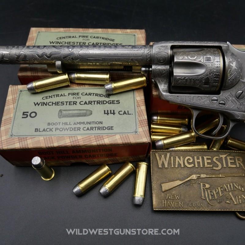 Boite Western de 50 cartouches calibre 44-40  poudre noire