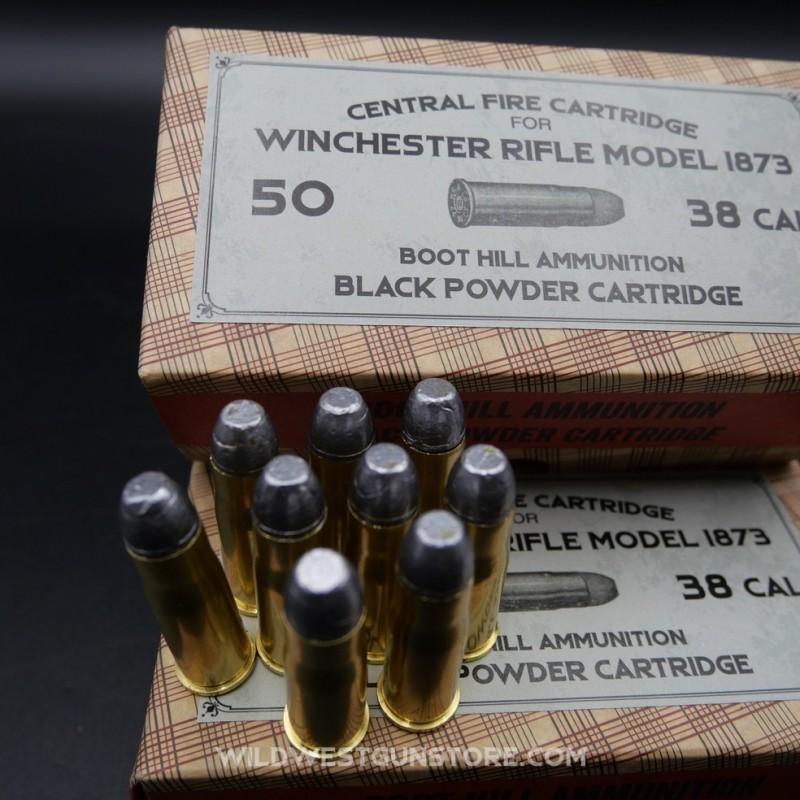 Cartouches métalliques calibre 38/40 par boite de 50