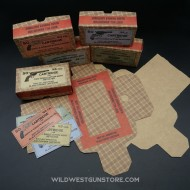 Boite munitions Western étiquette au choix port inclus