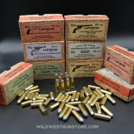 Série de 5 Boites munitions Western port inclus