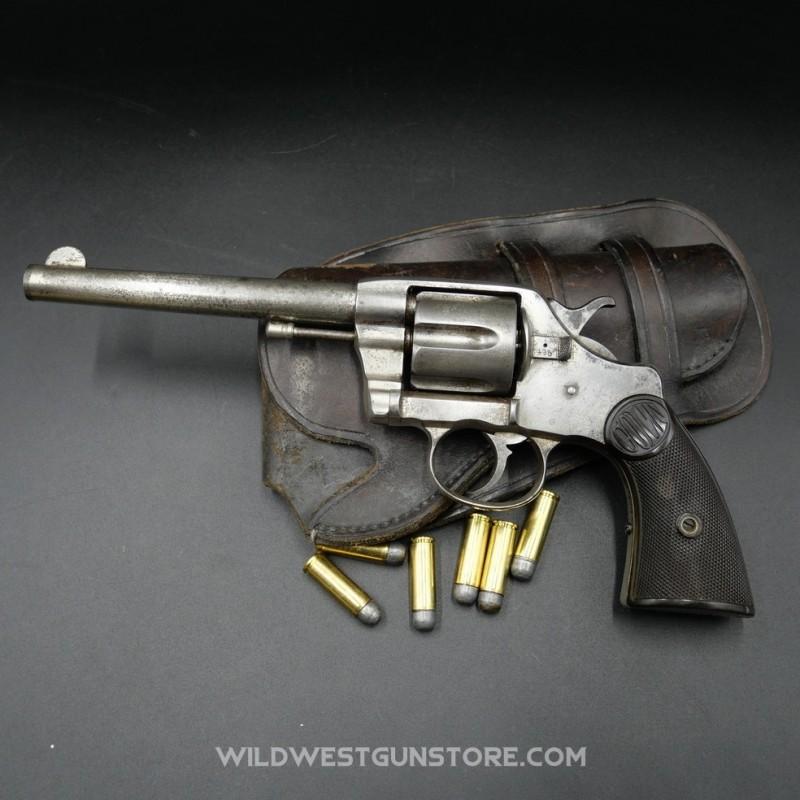 Colt 1895 version nickelée Double Action calibre .41