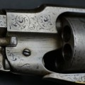 Engraving Remington 1858 by LD Nimschke