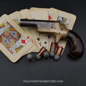 Pistolet Colt Derringer calibre .41RF 3ème modèle