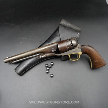 COLT Army 1860 avec marquage militaire fabrication 1863