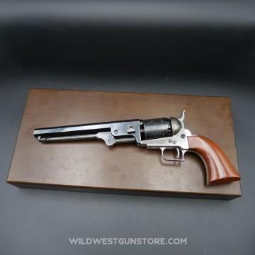 Coffret bois Colt 1851 calibre .36 seconde génération