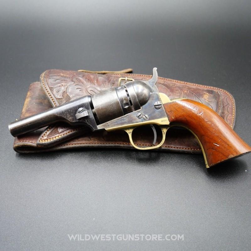 Colt Navy Pocket 1849 conversion, Arme catégorie D, Vente libre personnes majeure, vendue sans accessoires