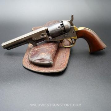Revolver à poudre noire Colt Pocket 1849 canon 5 pouces