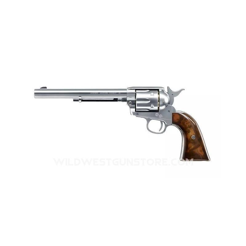 Réplique Airsoft Umarex référence 26.346 du célèbre Colt SAA Peacemaker en canon long