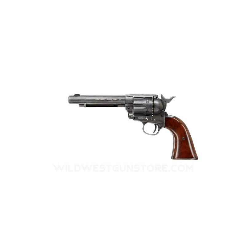Révolver Umarex Colt SAA finition usée, plomb diabolo 4,5mm