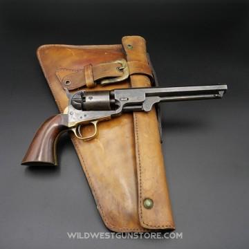 Colt Navy 1851 Belt Revolver Arme catégorie D, Vente libre personnes majeure, vendue avec son étui