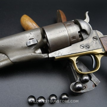Colt Army 1860 fabrication guerre de sécession