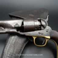 Ensemble Colt daté guerre civile et son holster réglementaire