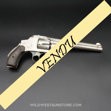 Révolver Smith et Wesson .38 safety Hammerless