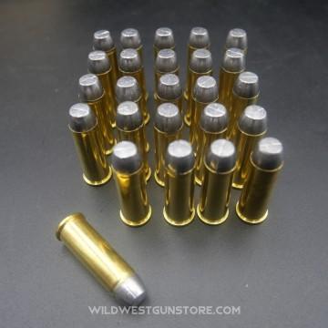 Cartouches métalliques poudre noire calibre 44-40